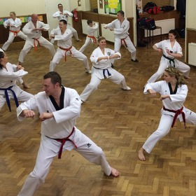 Tae Kwon Do Training