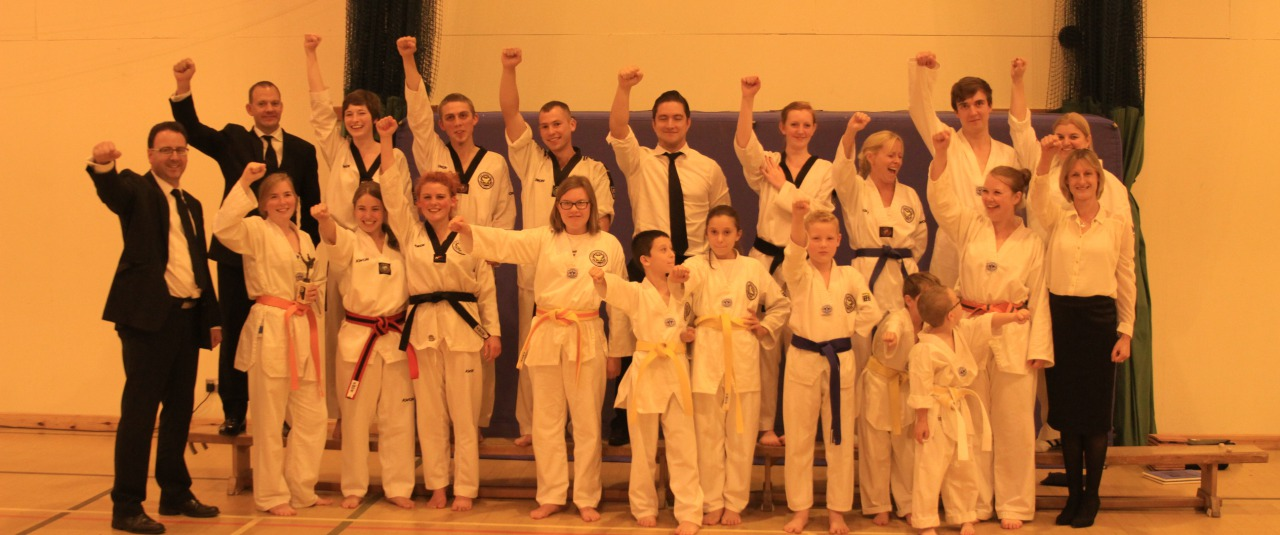 Crown Tae Kwon Do family